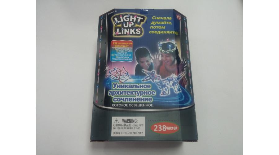-100%Конструктор LIGHT UPLINKS 238 дет.YYC1102-65 NEW 999-4